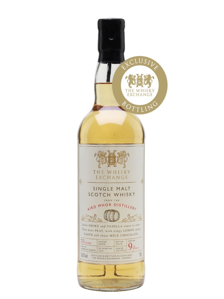 The Dramble review Aird Mhor 2009 9 year old The Whisky Exchange