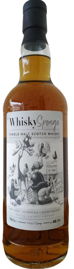 The Dramble reviews Whisky Sponge Single Malt Scotch Whisky 1985 35 year old