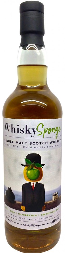 The Dramble reviews Whisky Sponge Candlekitty 2000 19 year old