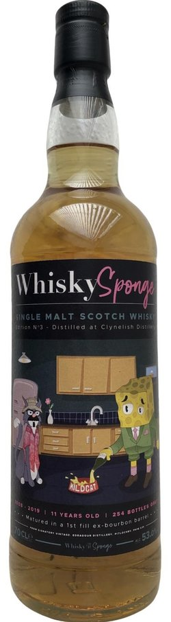 The Dramble reviews Clynelish 2008 11 year old Whisky Sponge
