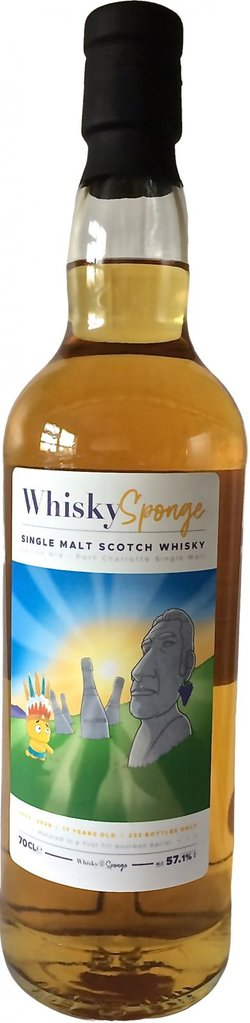 The Dramble reviews Port Charlotte 2002 17 year old Whisky Sponge