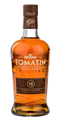 The Dramble's tasting notes for Tomatin 18 year old