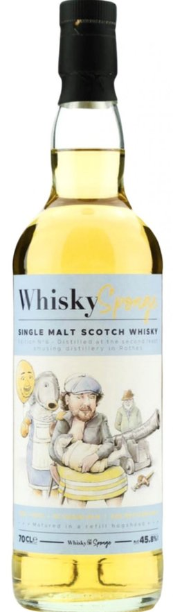 The Dramble reviews Mystery Speyside 1987 32 year old Whisky Sponge