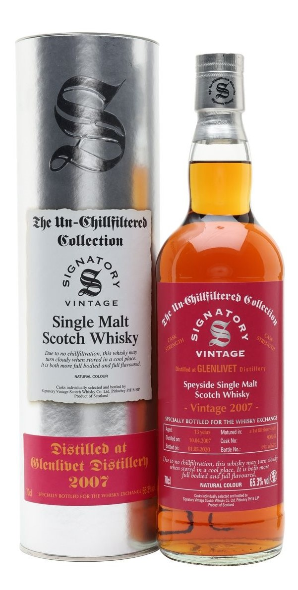 The Dramble reviews Signatory Vintage Glenlivet 2007 13 year old TWE Exclusive