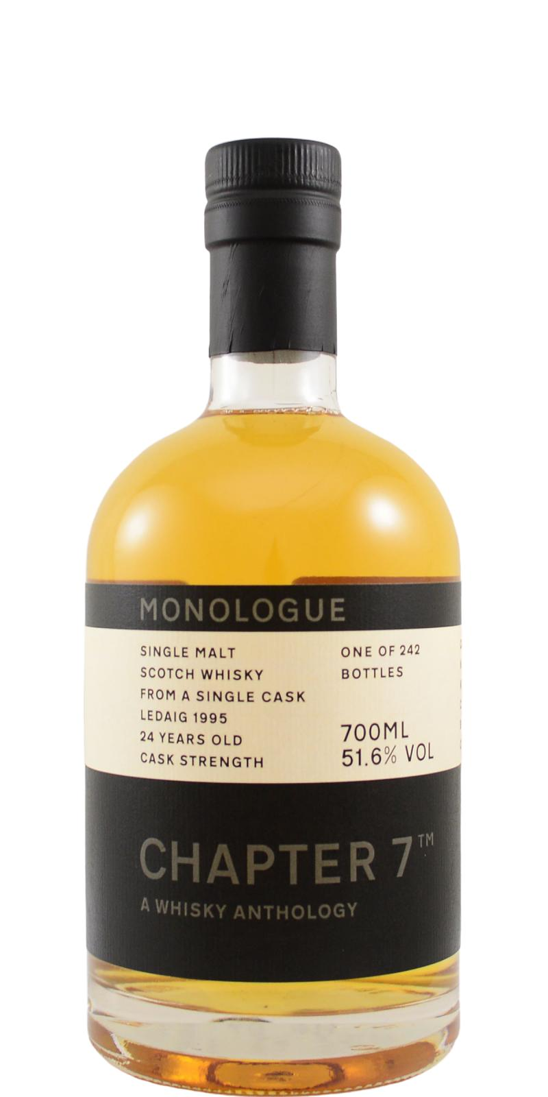 The Dramble reviews Ledaig 1995 24 year old Chapter 7 Monologue
