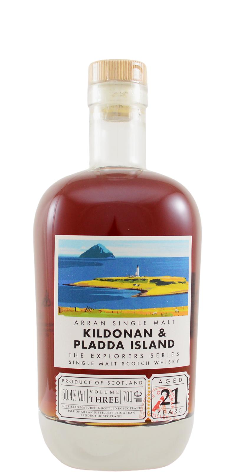 The Dramble reviews Arran Kildonan and Pladda Island 21 year old
