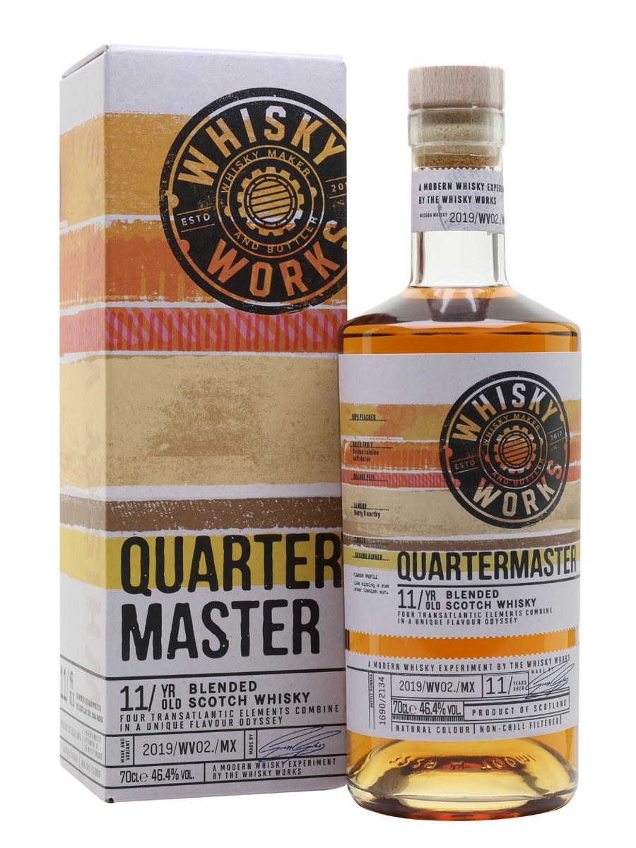 The Dramble reviews Whisky Works Quartermaster 11 year old