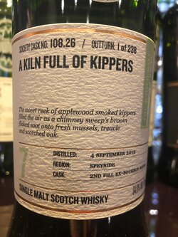 The Dramble reviews SMWS 108.26 A kiln full of kippers