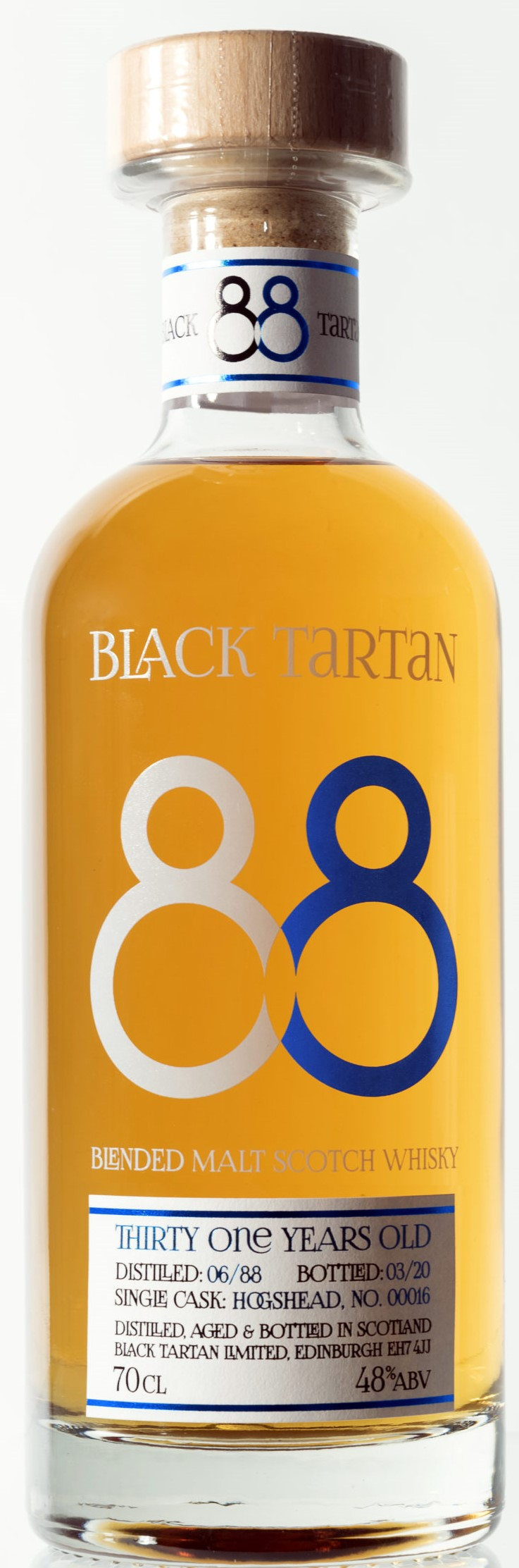 The Dramble reviews Skene Whisky Black Tartan 88