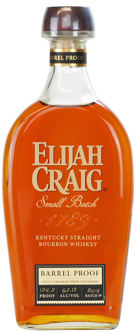 The Dramble reviews Elijah Craig Barrel Proof Batch B517