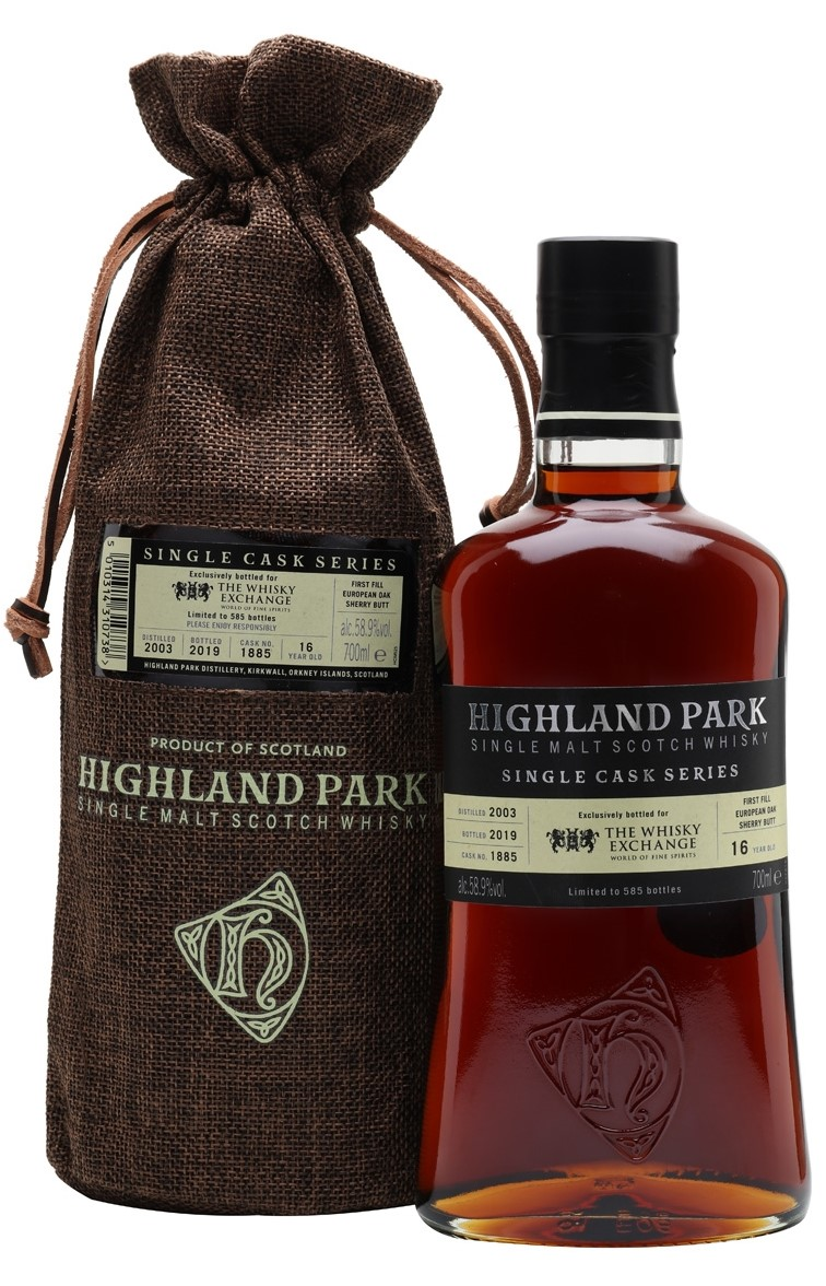 The Dramble reviews Highland Park 2003 16 year old TWE Exclusive