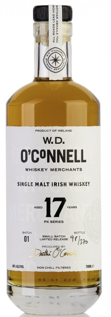 The Dramble reviews W.D. O'Connell Single Malt Irish Whiskey 2002 17 year old PX Series