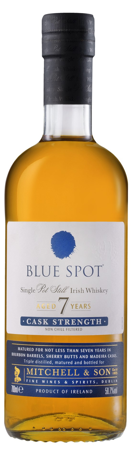 The Dramble reviews Blue Spot whiskey