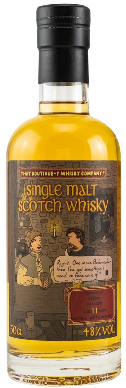 The Dramble reviews Boutique-y Whisky Macduff 11 year old Batch 6
