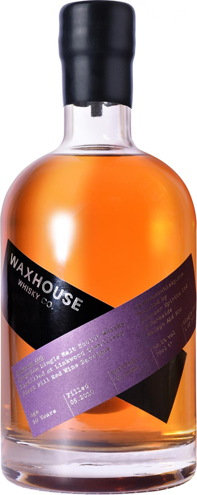 The Dramble reviews Waxhouse Whisky Linkwood 2010 10 year old