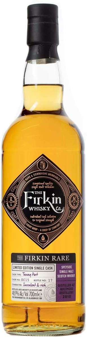 The Dramble reviews Firkin Whisky Company Aultmore 2010 – Firkin Rare