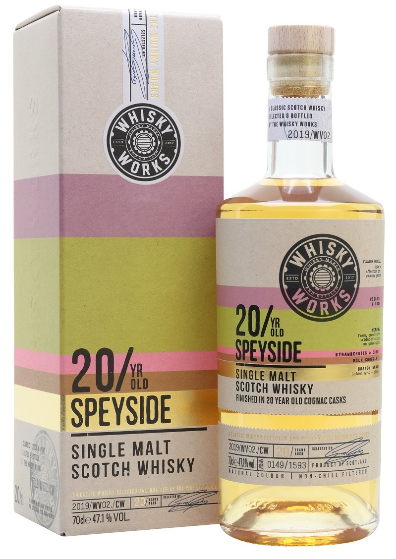 The Dramble reviews Whisky Works Speyside 20 year old