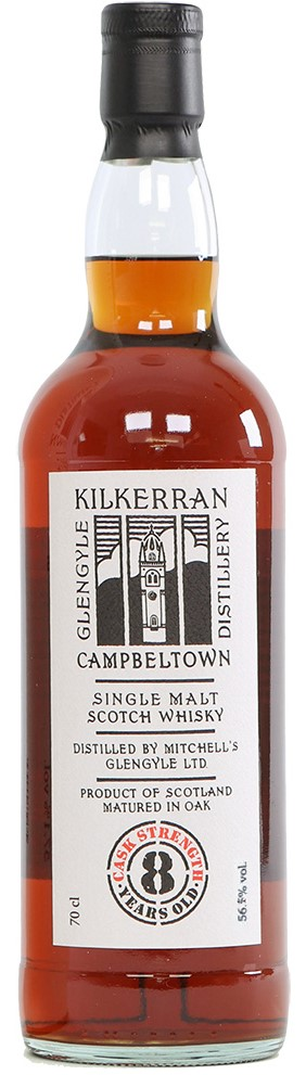 The Dramble reviews Kilkerran 8 year old Cask Strength Oloroso Sherry Casks