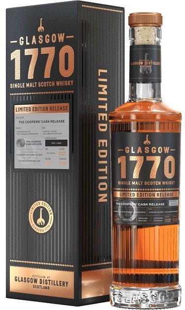 The Dramble reviews Glasgow 1770 Cooper's Cask Release