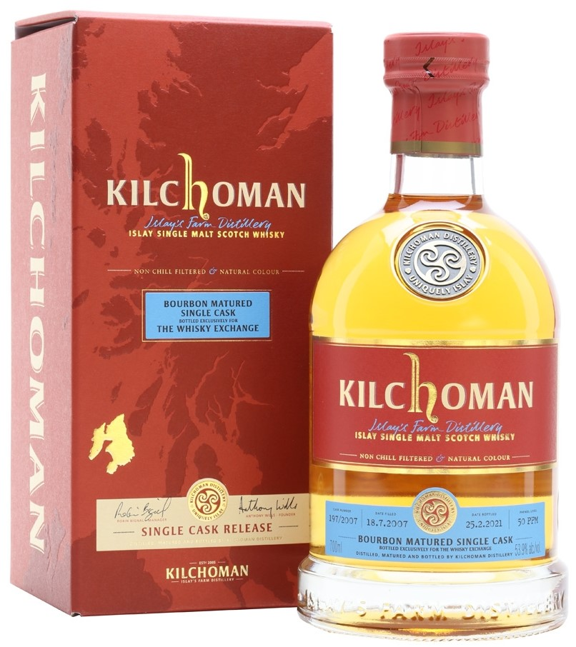 The Dramble reviews Kilchoman 2007 13 year old TWE Exclusive