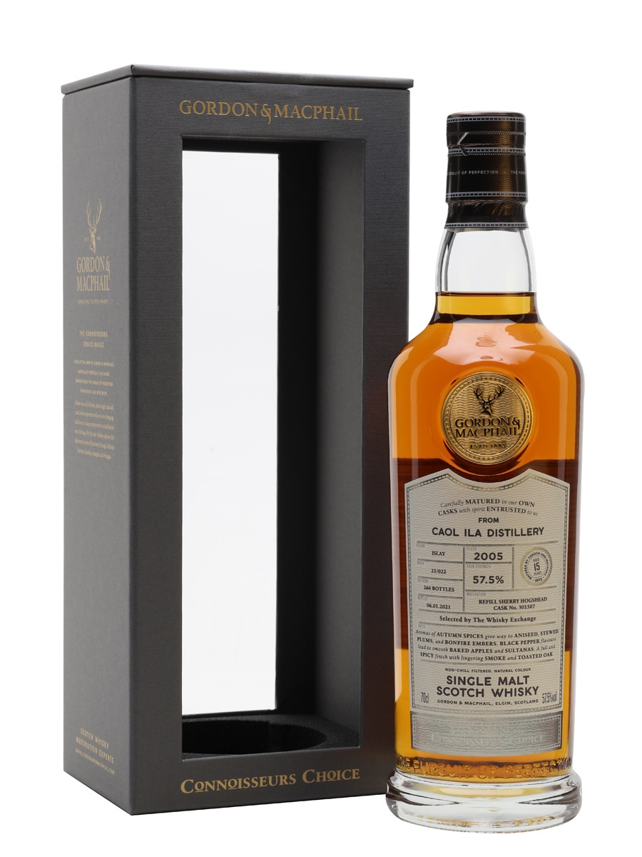 The Dramble reviews Gordon & MacPhail Connoisseurs Choice Caol Ila 2005 15 year old TWE Exclusive