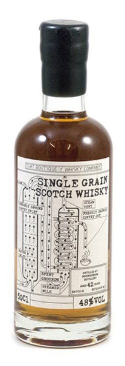 The Dramble's tasting notes for That Boutique-y Whisky Company Invergordon 42 year old Batch 15