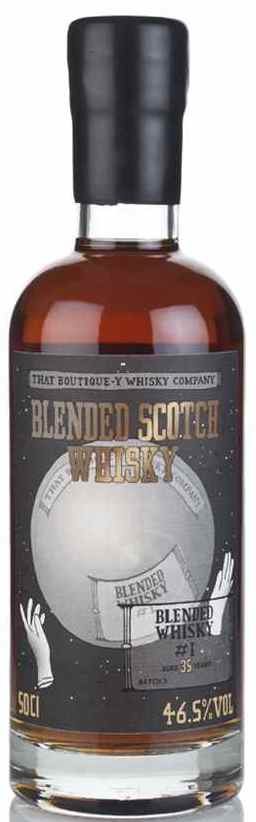 The Dramble's tasting notes for That Boutique-y Whisky Company Blended Whisky #1 35 year old Batch 3