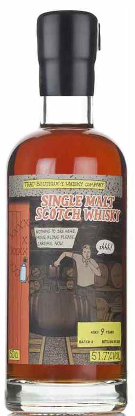 The Dramble's tasting notes for That Boutique-y Whisky Company Secret Distillery 9 year old Batch 2