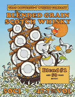 The Dramble's tasting notes for That Boutique-y Whisky Company Blended Grain No.1 50 year old