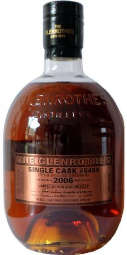 The Dramble's tasting notes for Glenrothes 2006 Single Cask No. 5454
