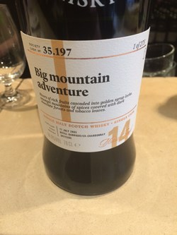 The Dramble's tasting notes for SMWS 35.197 Big mountain adventure