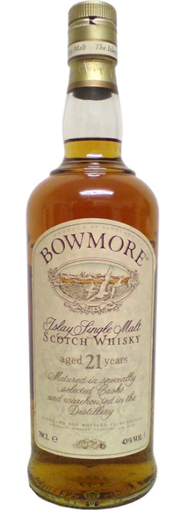 The Dramble's tasting notes for Bowmore 21 year old 2003 bottling