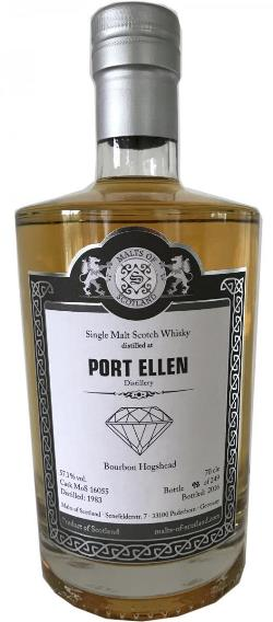 The Dramble's tasting notes for Port Ellen 1983 33 year old Malts of Scotland Diamond Series