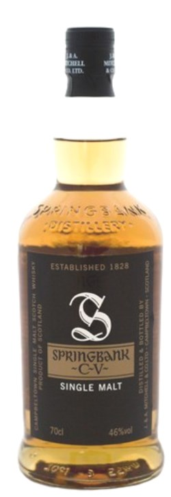 The Dramble's tasting notes for Springbank CV