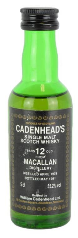 The Dramble's tasting notes for Cadenhead's 1979 Macallan-Glenlivet 1979 12 year old