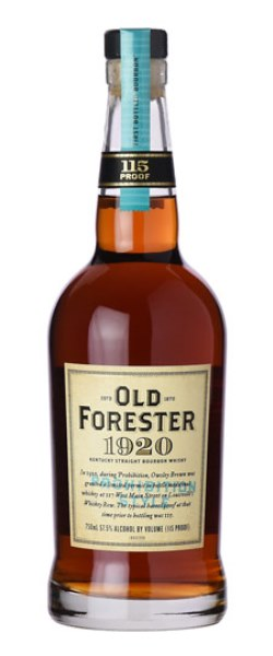 The Dramble's tasting notes for Old Forester 1920 Prohibition Style