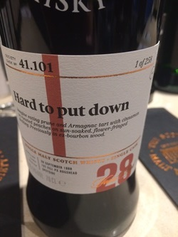 The Dramble's tasting notes for SMWS 41.101 Hard to put down