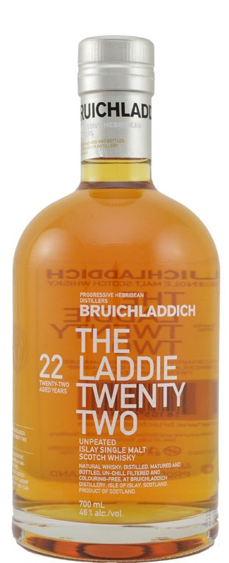 The Dramble's tasting notes for Bruichladdich The Laddie Twenty Two