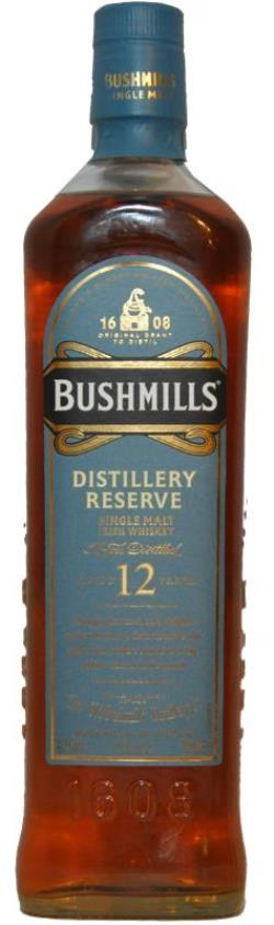The Dramble's tasting notes for Bushmills 12 year old Distillery Reserve