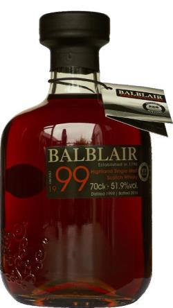 The Dramble's tasting notes for Balblair 1999 Single Sherry Cask TWE Exclusive