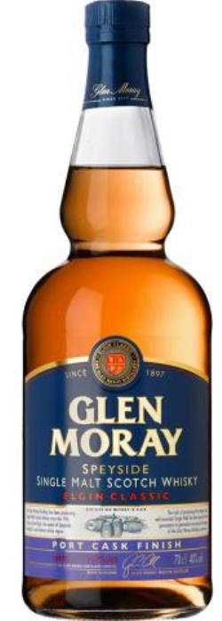 The Dramble's tasting notes for Glen Moray Elgin Classic Port Cask Finish