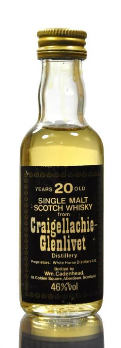 The Dramble's tasting notes for Craigellachie-Glenlivet 20 year old Cadenhead's Black Label