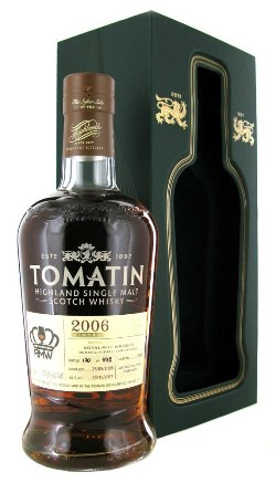 The Dramble's tasting notes for Tomatin 2006 Royal Mile Whiskies Exclusive