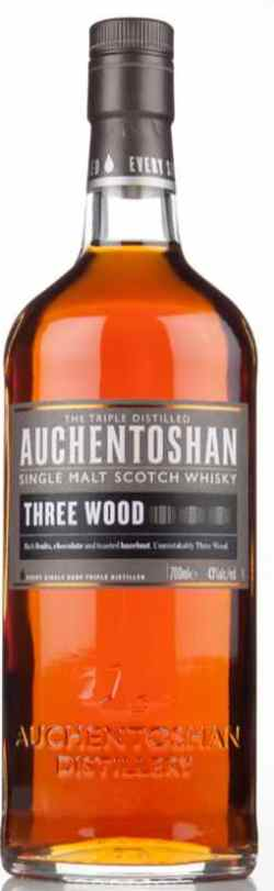 The Dramble's tasting notes for Auchentoshan Three Wood
