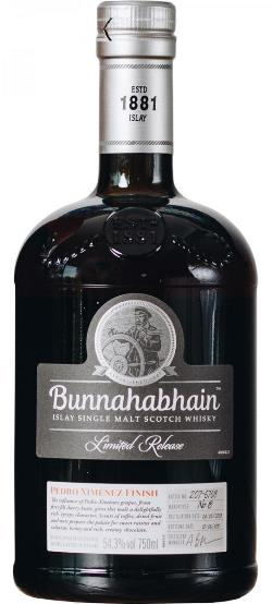 The Dramble's tasting notes for Bunnahabhain 2003 Pedro Ximenez Finish