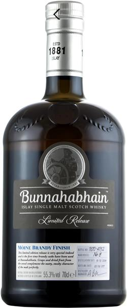 The Dramble's tasting notes for Bunnahabhain 2004 Moine Brandy Finish
