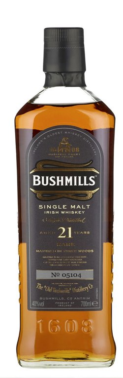 The Dramble's tasting notes for Bushmills 21 year old