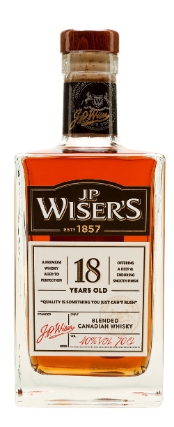 The Dramble's tasting notes for Wiser's 18 year old