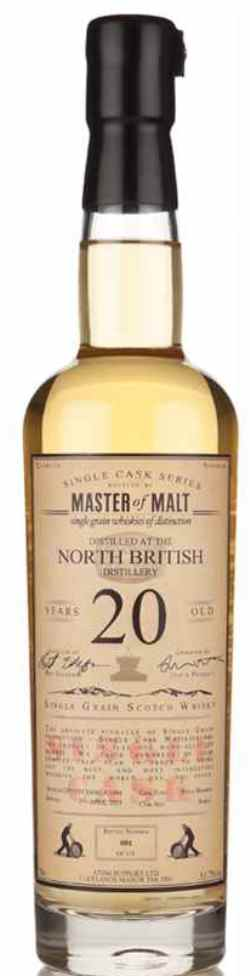 The Dramble's tasting notes for North British 1994 20 year old Master of Malt Single Cask range