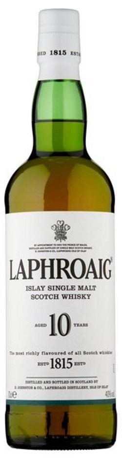 The Dramble's tasting notes for Laphroaig 10 year old